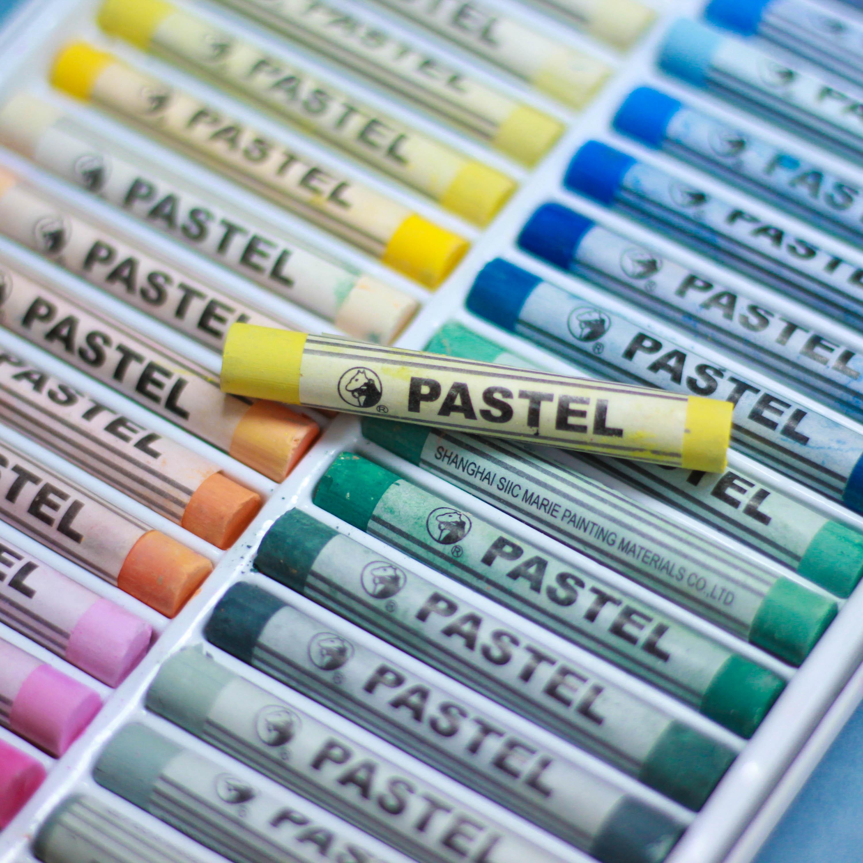 Материалы и инструменты для рисунка. Пастель сухая мягкая