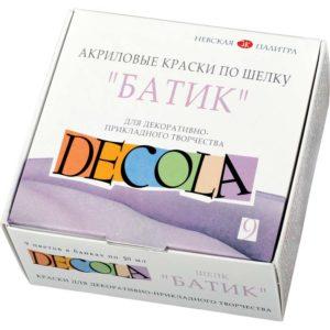 Набор акриловых красок по шелку