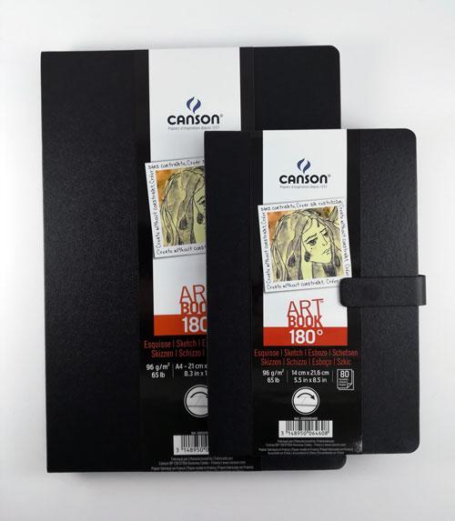 Скетчбук Art Book 180 градусов Canson