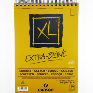 Скетчбук Canson XL EXTRA BLANC