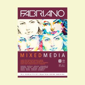 Скетчбук Mixed Media Fabriano