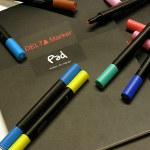 Скетчбук Delta Marker