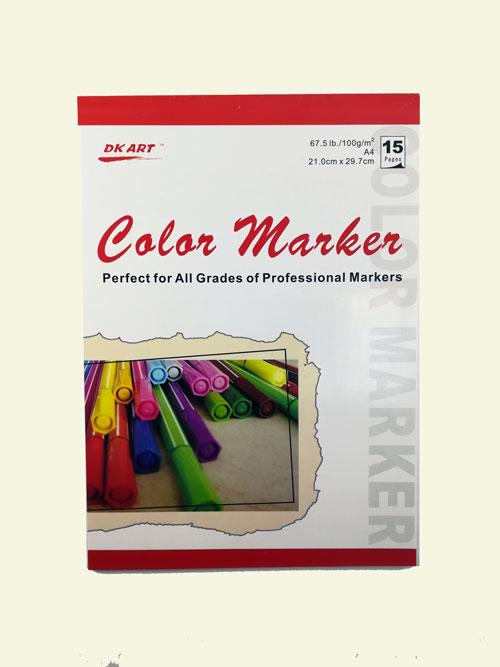 Скетчбук для маркеров DK Art