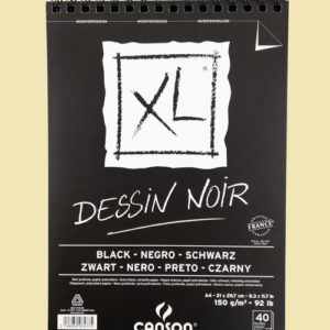 Блекбук Canson XL Dessin Noir