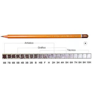 Чернографитный простой карандаш Koh-I-Noor