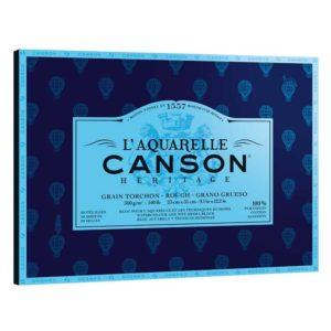 Скетчбук для акварели Heritage Canson