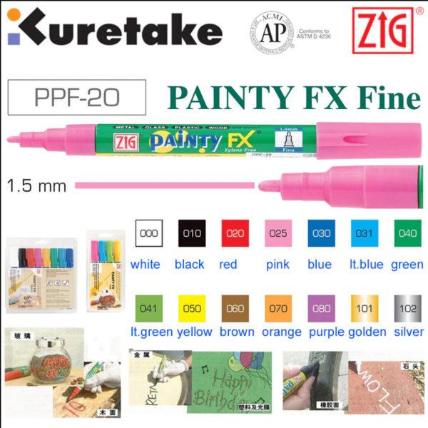 Zig Painty FX Fine