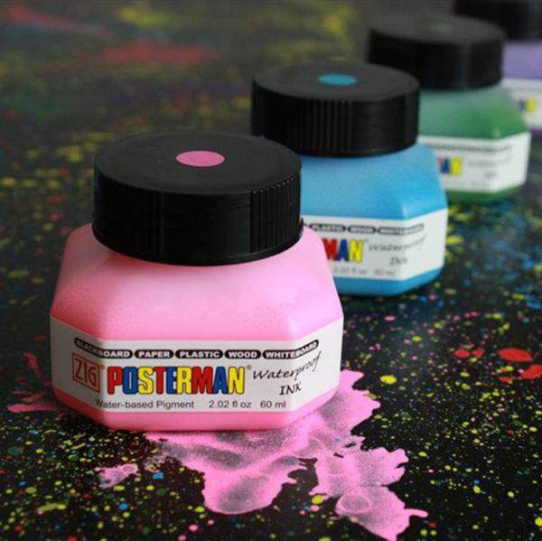 Zig Posterman Waterproof Ink