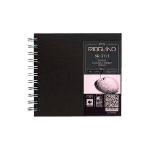 Скетчбук 80л 110 г/м2 квадратный Sketch Book Fabriano