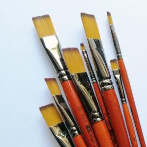 Кисть плоская синтетическая ArtMaster 1097 F.