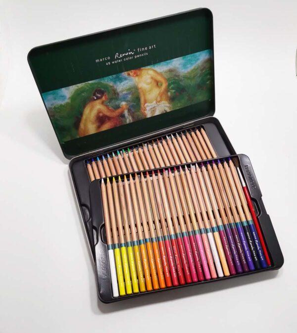Набор профессиональных карандашей акварельных,