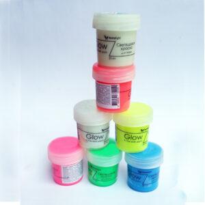 Акриловая люминесцентная краска для текстиля