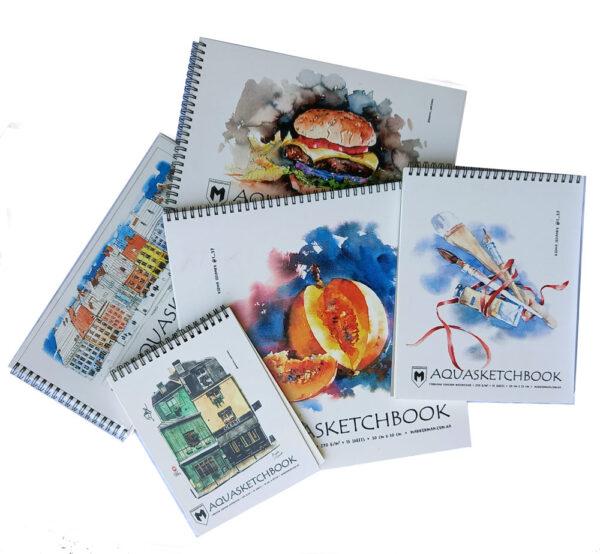 Скетчбук AQUASKETCBOOK Markerman для акварели